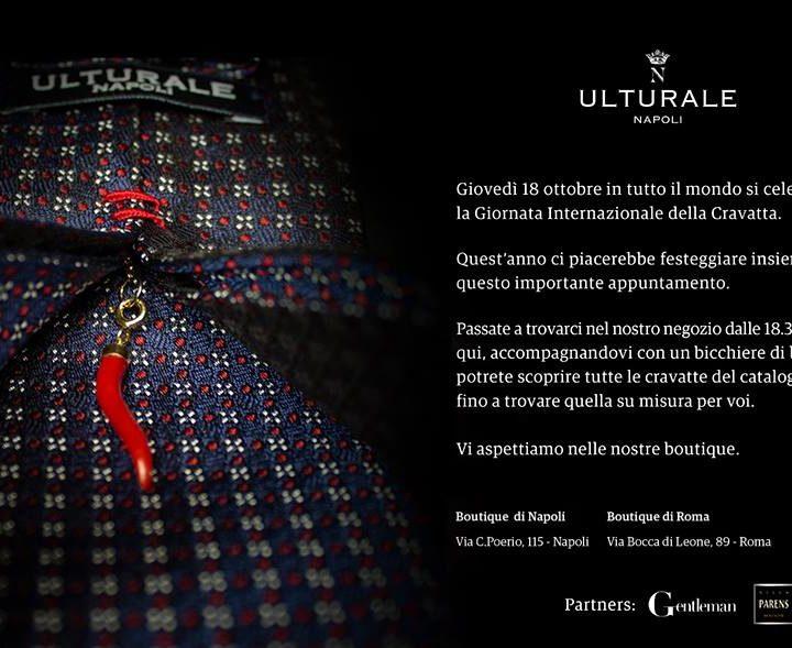 Ulturale celebra la Giornata Internazionale della Cravatta