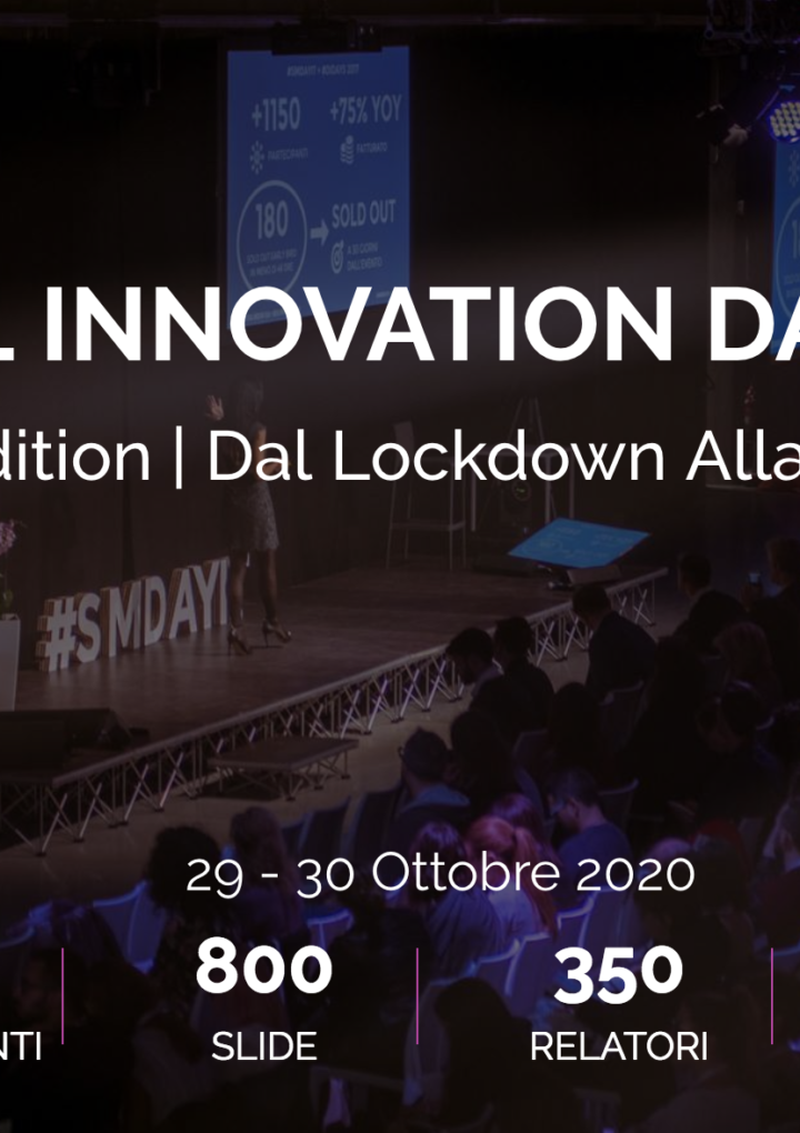 Dal lockdown alla ripartenza. Digital Innovation Days Italy 2020 online edition
