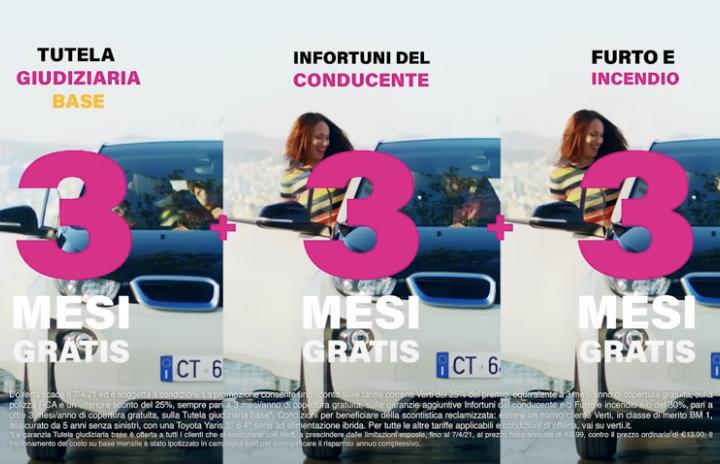"""VERTI ON AIR IN TV, RADIO E DIGITAL CON LA PROMOZIONE """"OFFERTA 3"""""""