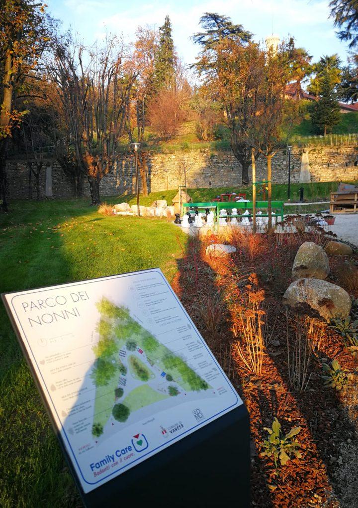 Con Family Care tutto il mese di ottobre si tinge d'argento: taxi gratis per il Parco dei Nonni di Varese per tutti gli Over70